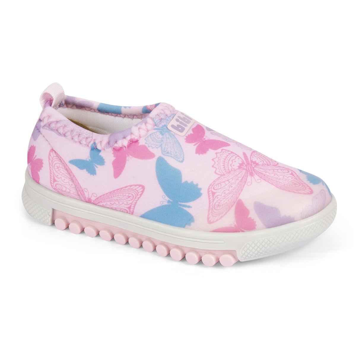 Tênis Infantil Feminino Bibi Rosa Roller New 679456 - Bibi Calçados d0feeaa8ad01d