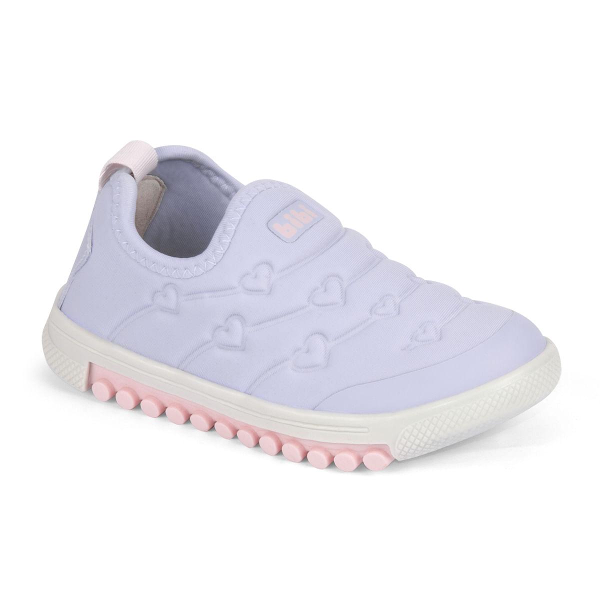 4031ef230a Tênis Infantil Feminino Bibi Lilás Roller New 679467 - Bibi Calçados