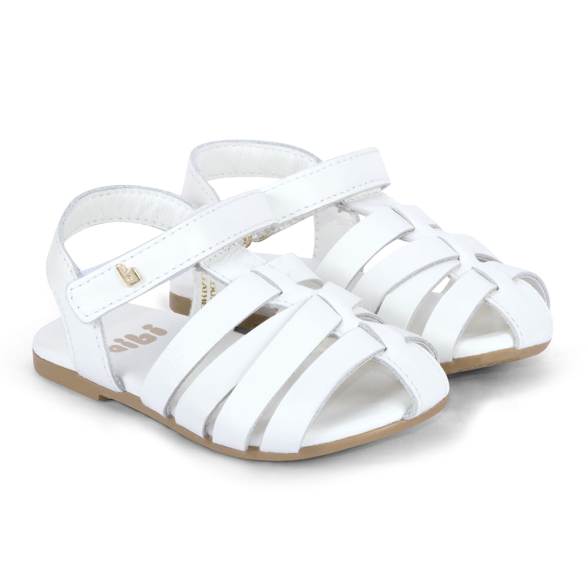 e9547757d Sandália Infantil Feminina Bibi Branca Baby Birk 1067026 - Bibi Calçados