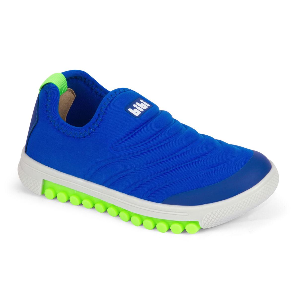 b55688a154 Tênis Infantil Masculino Bibi Azul Roller New 679463 - Bibi Calçados