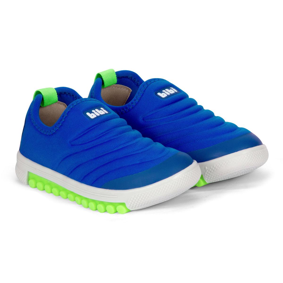 4b2ffe989db Tênis Infantil Masculino Bibi Azul Roller New 679463 - Bibi Calçados