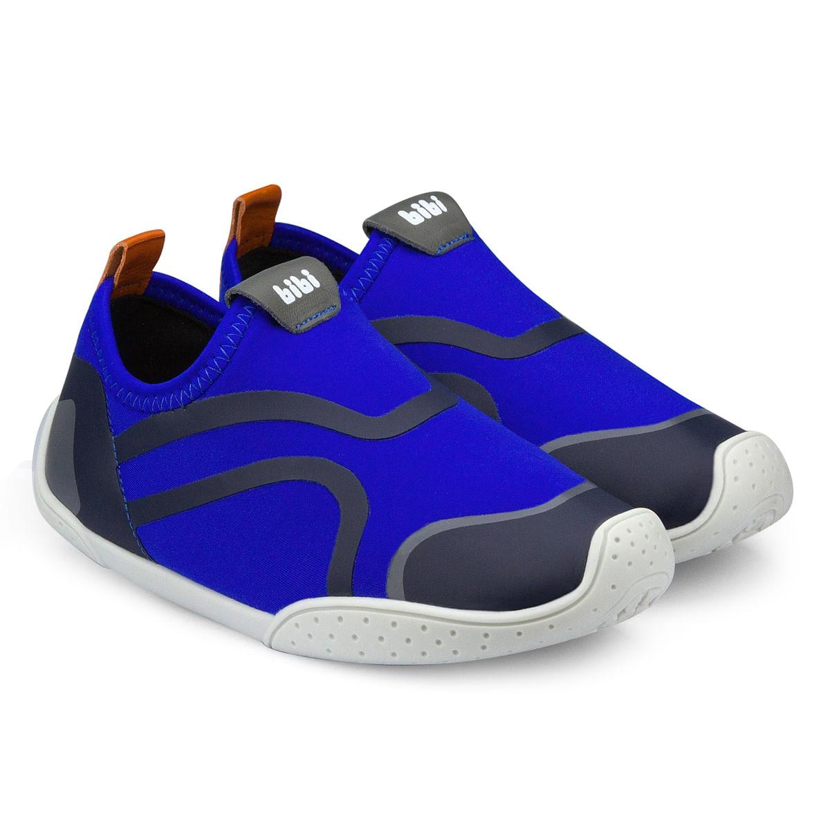 2ab2f3c8b Tênis Infantil Bibi Masculino Azul Fisioflex 1063084 - Bibi Calçados