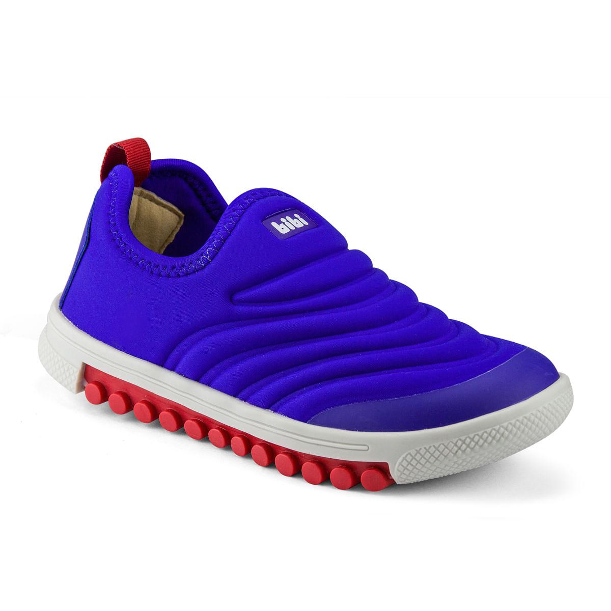 914eb2cf1be Tênis Infantil Bibi Masculino Azul Roller New 679489 - Bibi Calçados