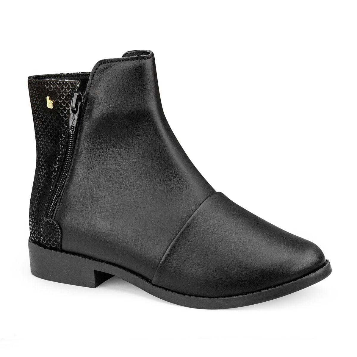 5ef9aef3854 Bota Infantil Bibi Feminina Preta Classic Boots 1085010 - Bibi Calçados