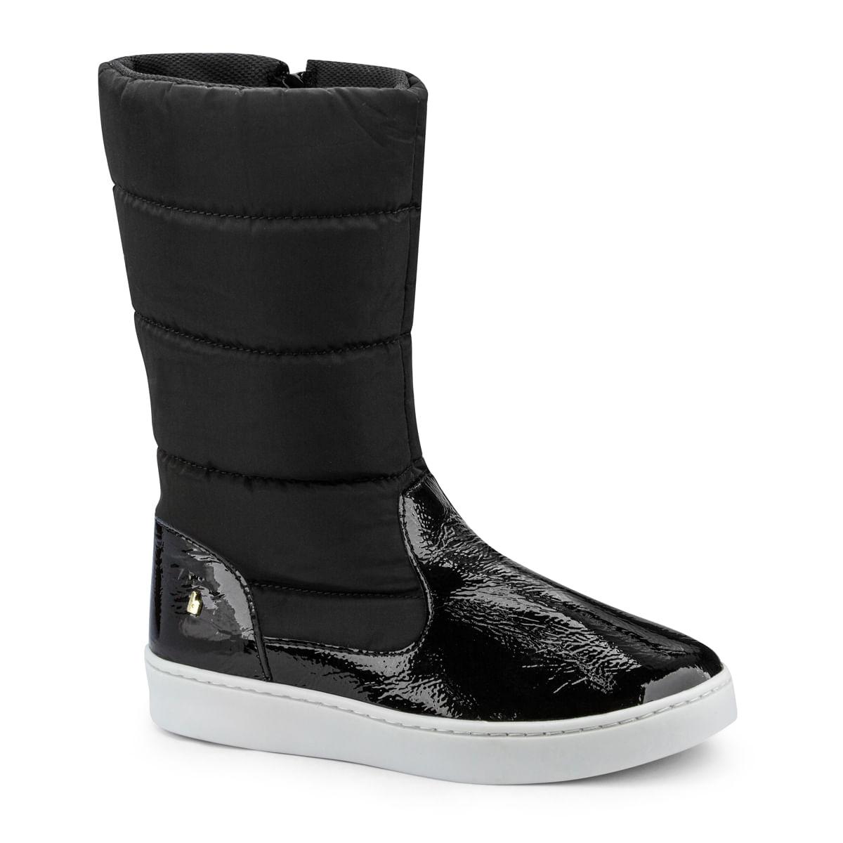 76cd647d75 Bota Infantil Bibi Feminina Preta Cano Alto Urban Boots 1087010 ...