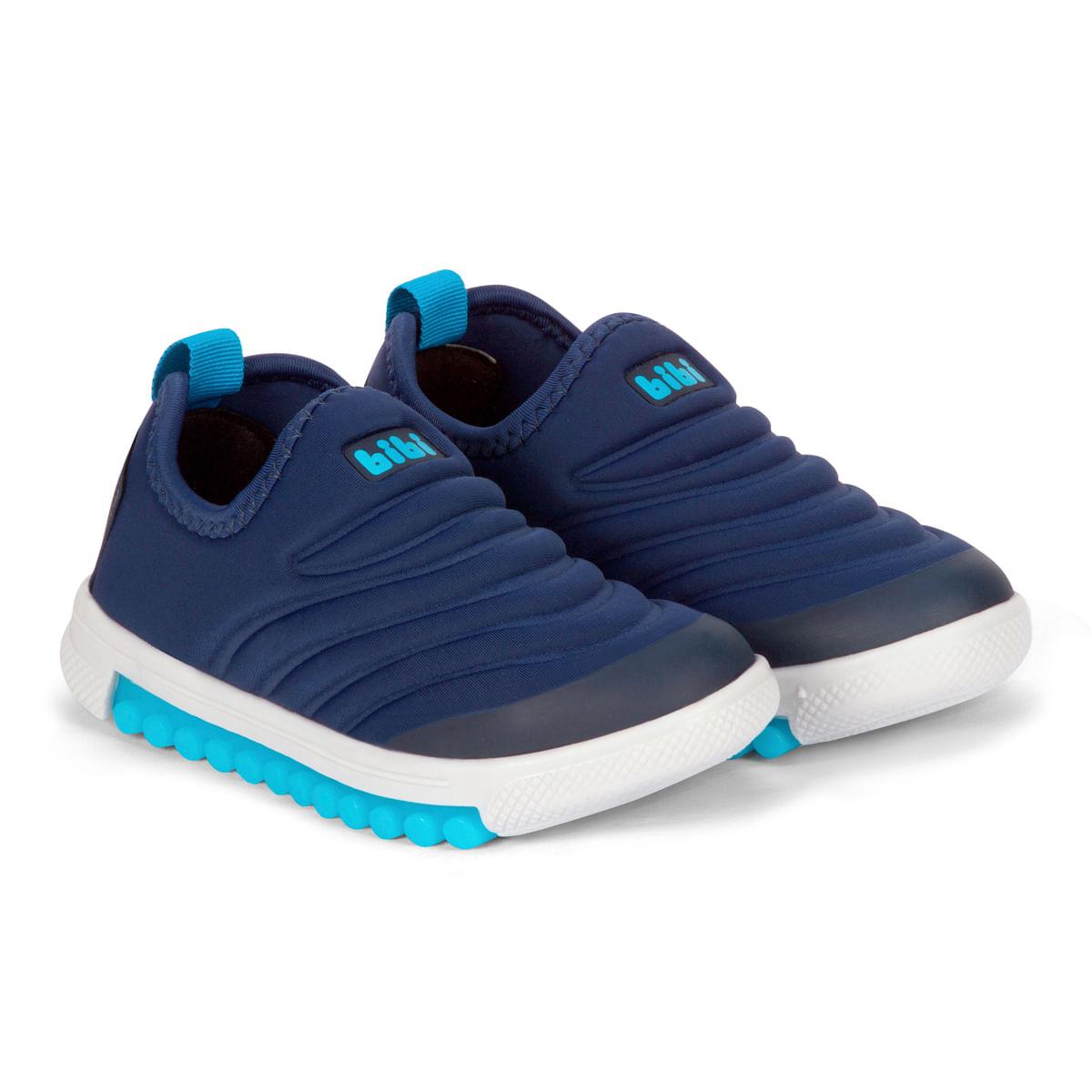 7bb1f4a6661 Tênis Infantil Masculino Bibi Azul Roller New 679463 - Bibi Calçados