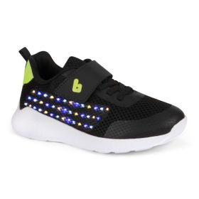 dc3c7147f Tênis de Led Infantil Bibi Masculino Preto Evolution Up 1058004
