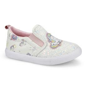 5318a0fa30e Tênis Infantil Bibi Feminino Unicórnio Glitter Branco Agility Mini 1046166