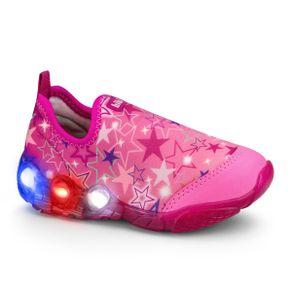 tenis-infantil-feminino-space-wave-rosa-chiclete-colorido-bi
