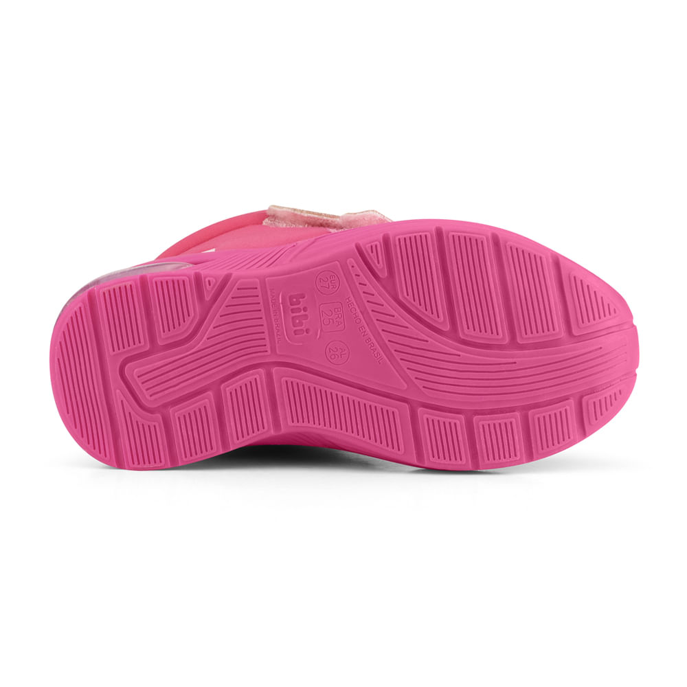Bota Infantil Bibi Space Wave 2.0 Feminino Pink - 1132106