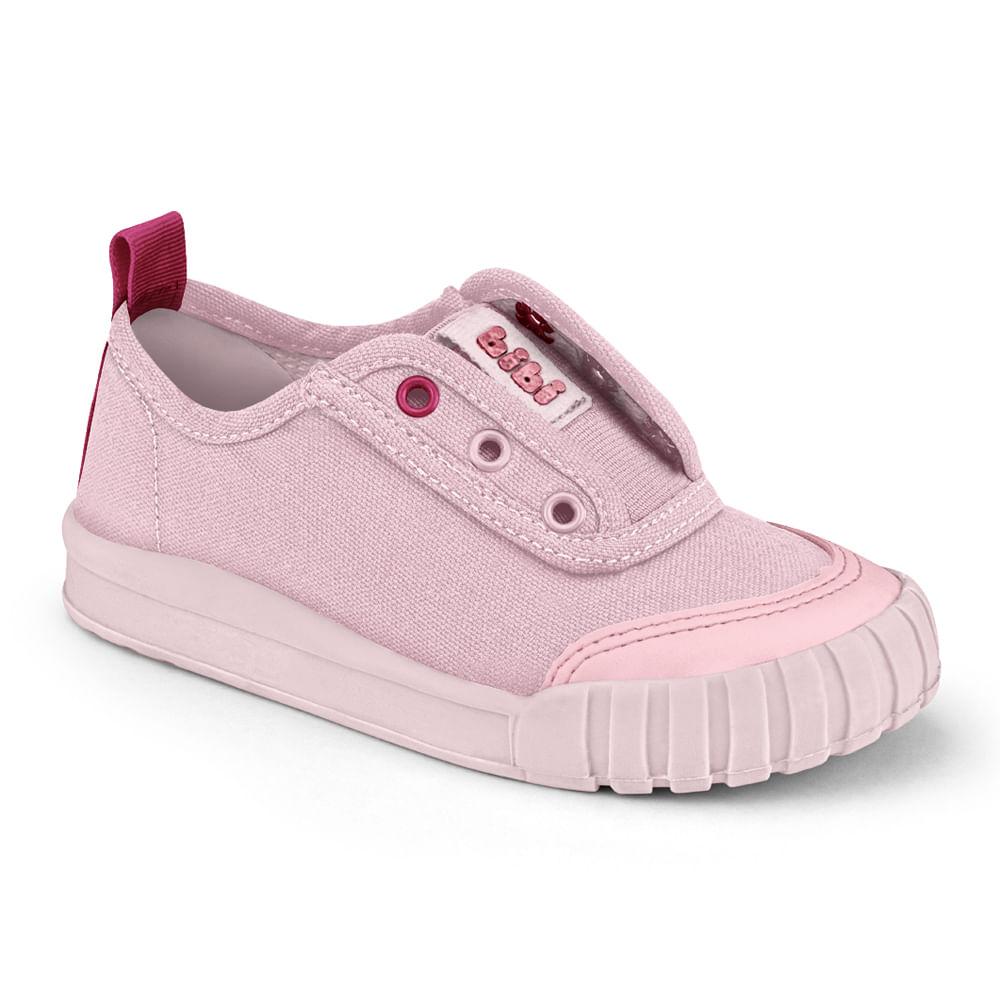 Tênis Infantil Bibi Comfy Feminino Rosa Sugar com Pink - 1157069