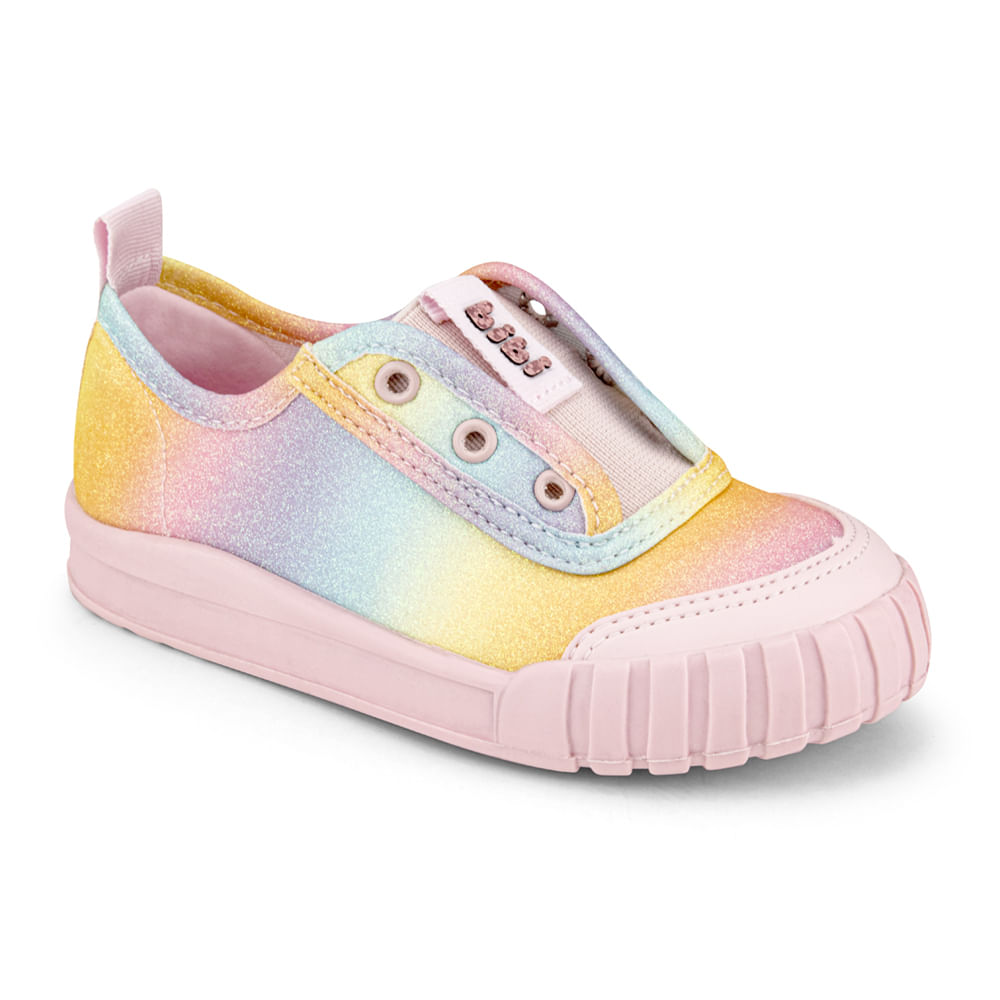 Tênis Infantil Bibi Comfy Feminino Rainbow - 1157072