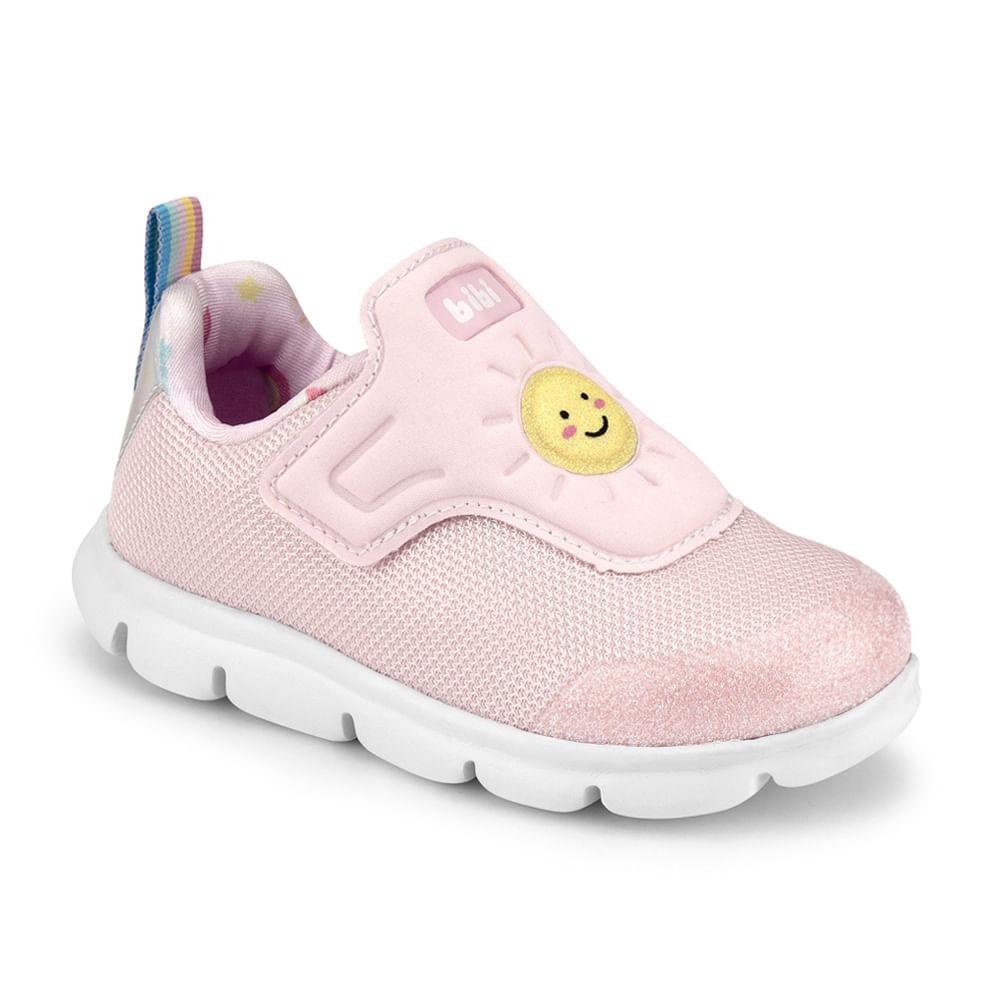 Tênis Infantil Bibi Energy Baby New II Feminino Rosa Sugar - 1107162